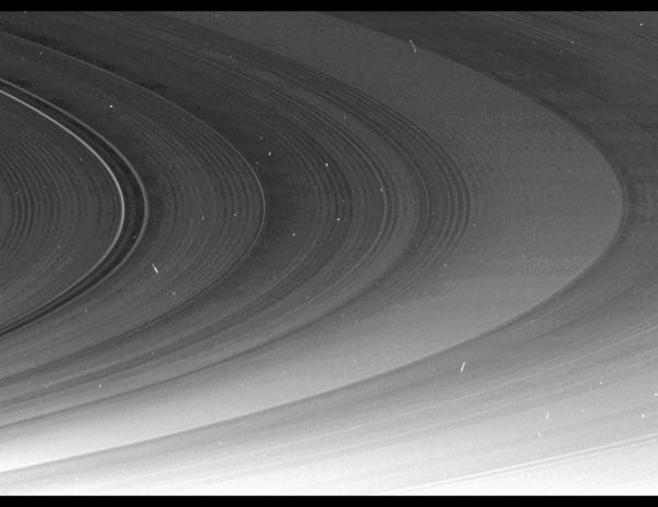 SATURN'S RING CASSINI