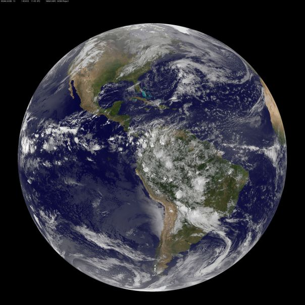 MOTHER EARTH -NASA
